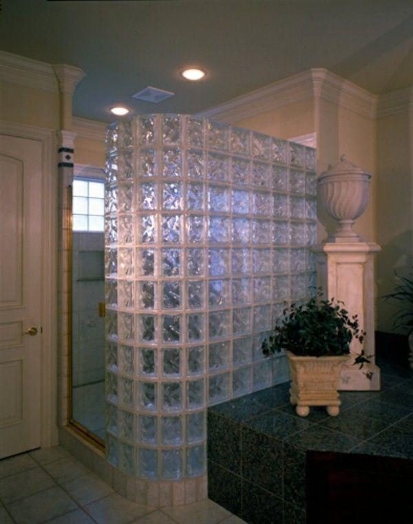 blocs de douche en verre pour ultra regard Douches Pinterest