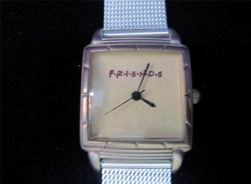 Vintage FRIENDS Sitcom Watch!  Fossil Relic WristWatch with Mesh Band