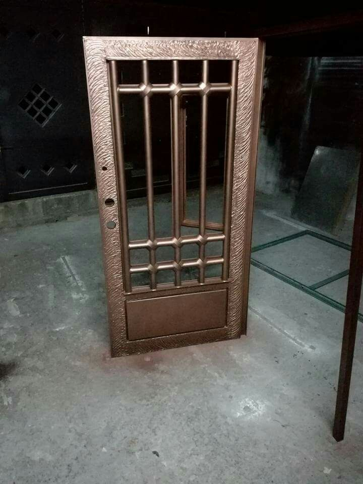 Pin de richard santiago en puertas met licas pinterest for Puertas metalicas modernas