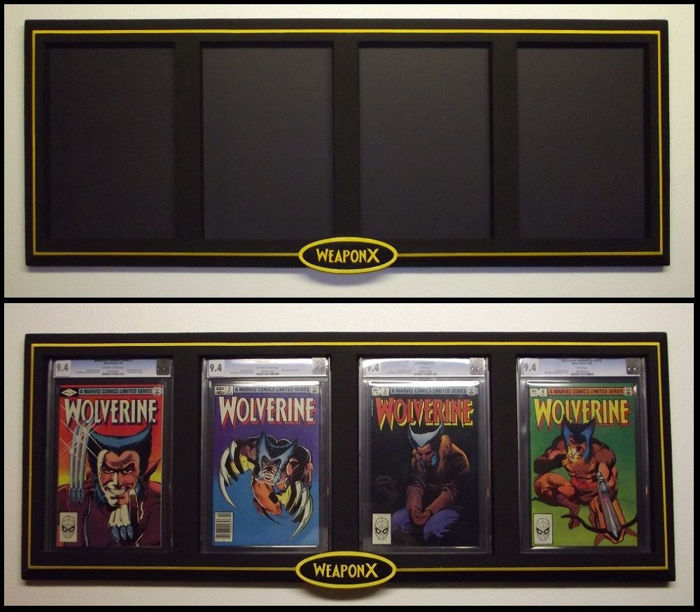 customer commissioned premier series custom cgc weapon x mini series comic book display frame
