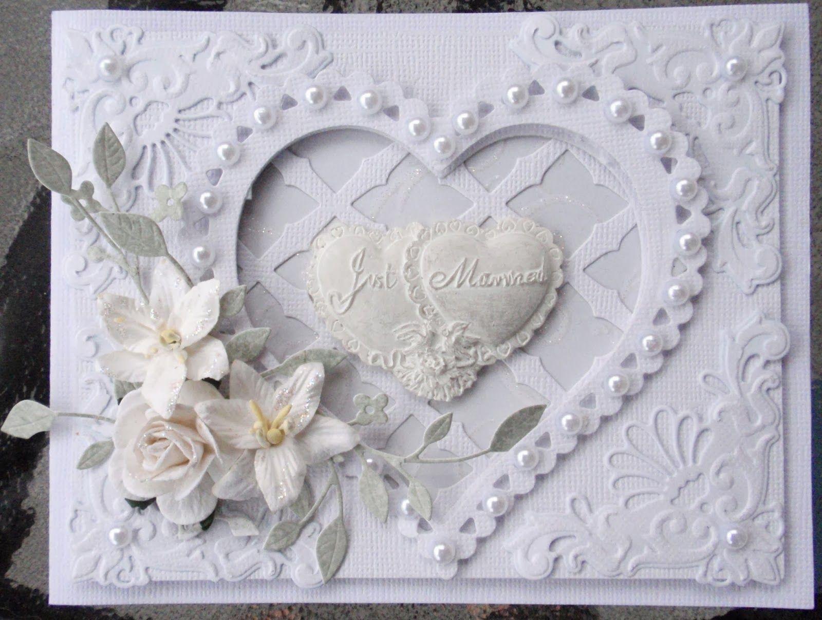 Lenas vackra bröllopskort
