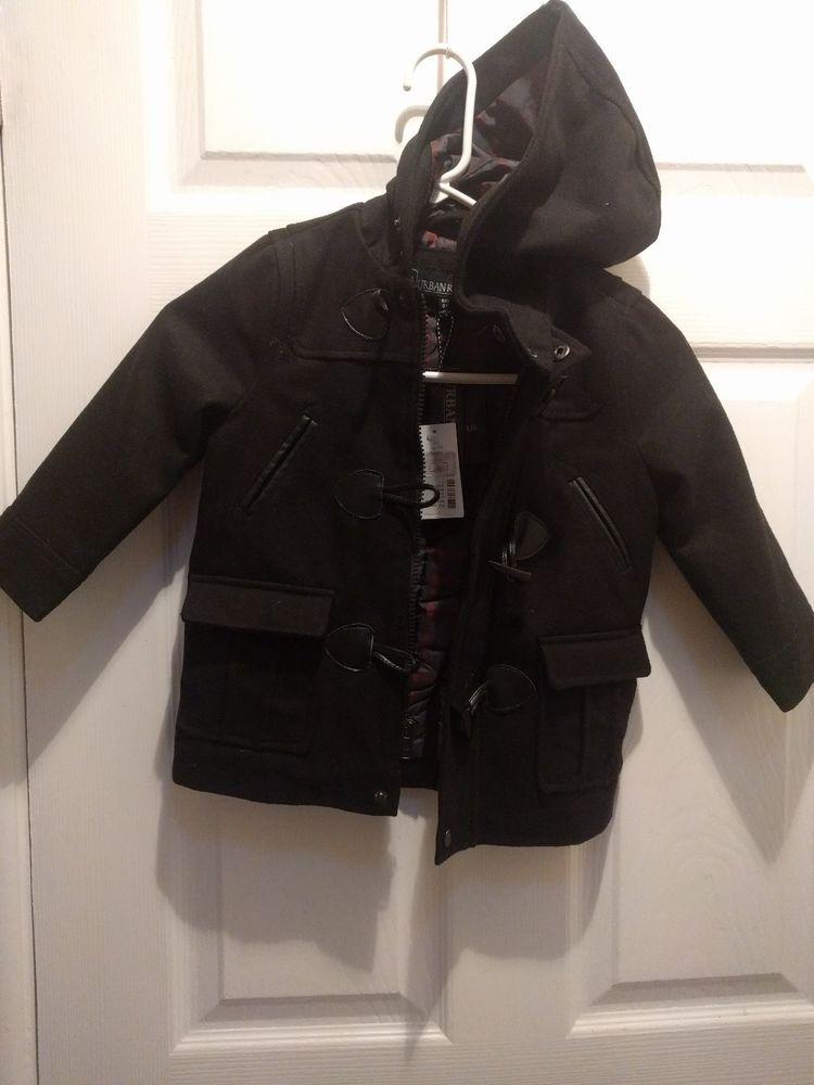 c273ac85a212 Urban Republic Boys Toddler Jacket size 3t black  fashion  clothing ...