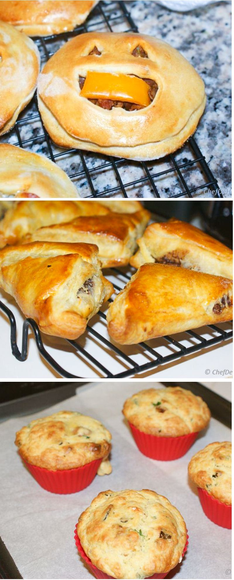 savory bake sale ideas | chefdehome | breads, rolls and muffins