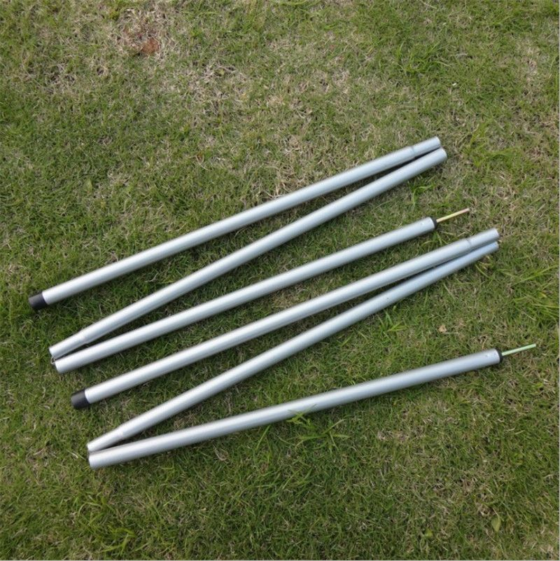 Steel Folding Tent Pole tent rod Awning Rod Stand Pole Tent Accessories tent extending door frame & Steel Folding Tent Pole tent rod Awning Rod Stand Pole Tent ...