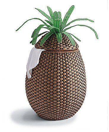 Tropical Daydreams Pineapple Accessories Pineapple Towel Pineapple Accessories Laundry Hamper