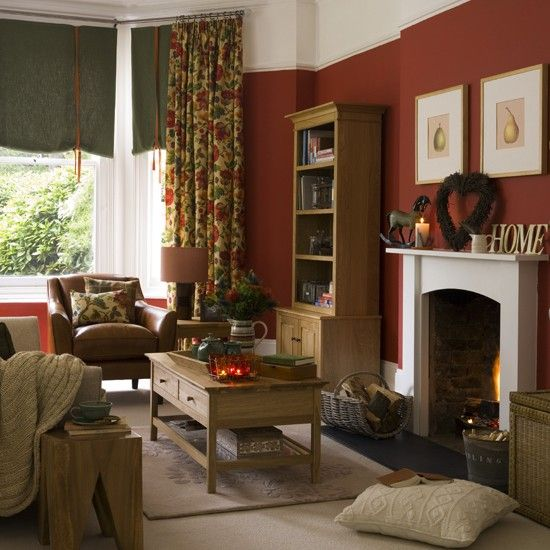 Country Living Room Designs Extraordinary Warm And Cosy Country Living Room  Country Living Rooms Cosy And Review