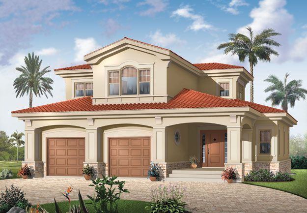 House Plans Home Plans And Floor Plans From Ultimate Plans Mediterranean Style House Plans Mediterranean House Plans Drummond House Plans