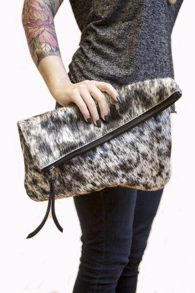 The best thing about this clutch - it looks fancy, but it's actually so carefree. It'll fit all your necessities, you just need to grab it and go! www.mooreaseal.com