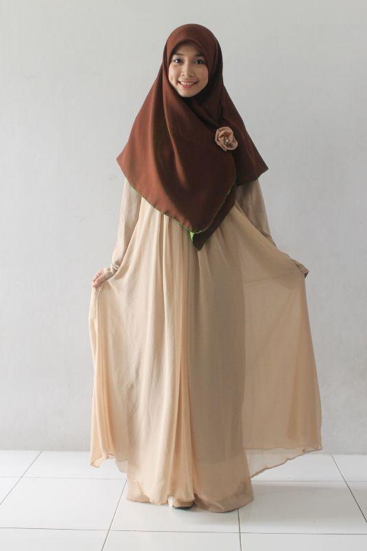 True Hijab Syar I Gamis Hijabalila Muslimah Dress Hijab Fashion Inspiration Muslimah Fashion