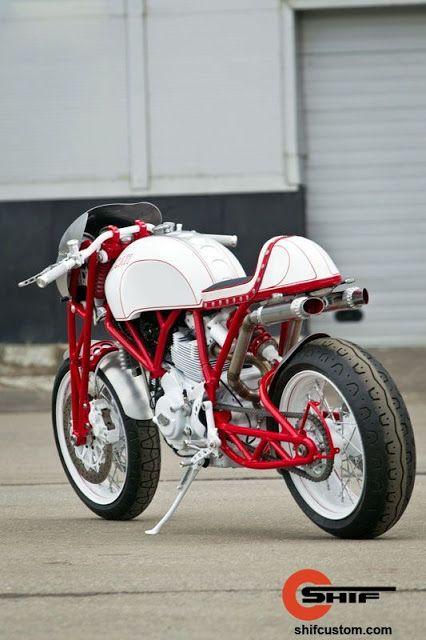 Ducati GT1000 Cafe Racer by Shif Custom | www.caferacerpasion.com