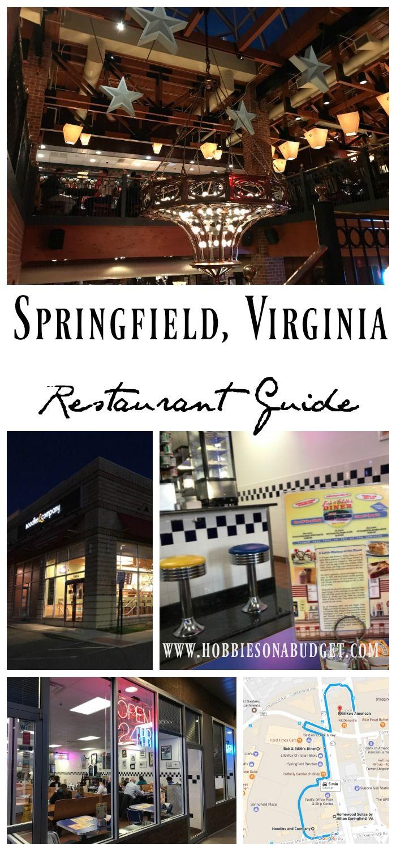 Springfield Virginia Restaurant Guide Springfield Virginia Virginia Restaurant Guide