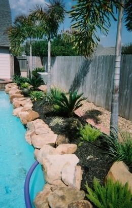 Pin By Dawn On Pool Ideas Landscaping Around Pool Above Ground Pool Landscaping Backyard Pool Landscaping