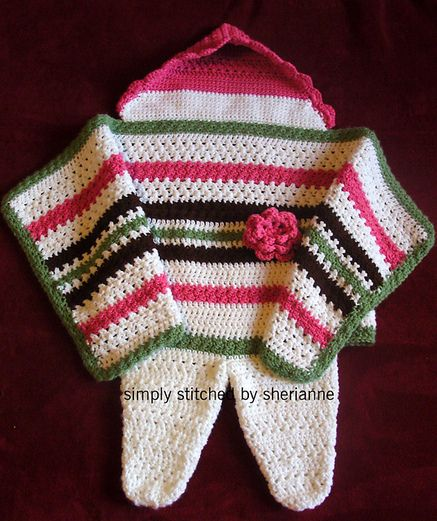 Swaddle Me Baby A Free Crochet Pattern Baby Ideas Pinterest