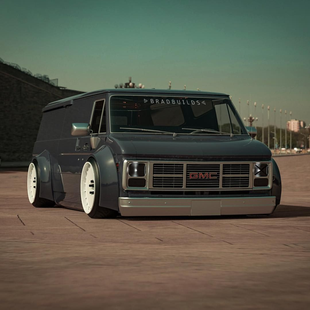 45 5k Likes 353 Comments Bradbuilds Cars Bradbuilds On Instagram Want Some Candy Something Custom Trucks Gmc Vans Custom Muscle Cars