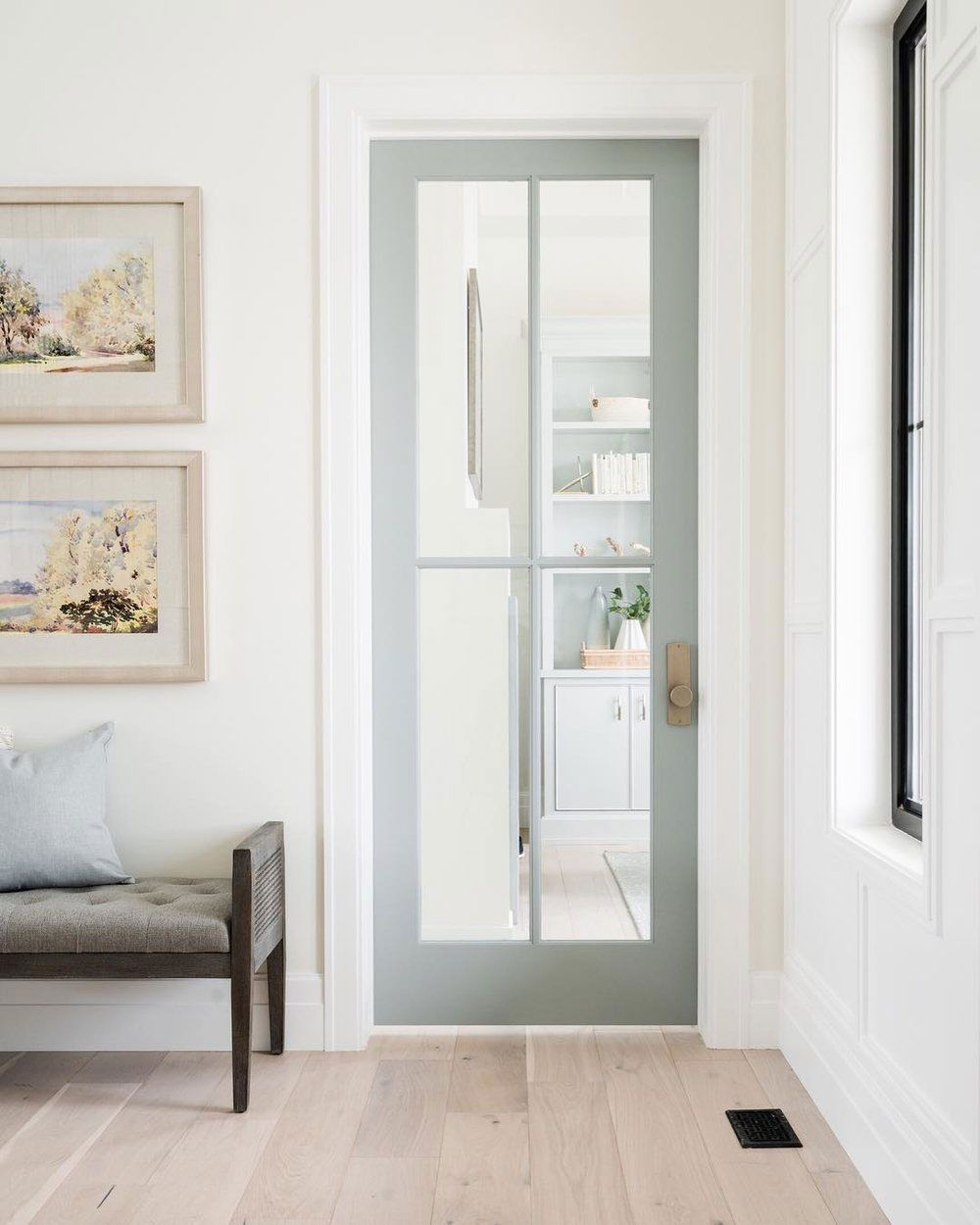 Scandinavian Design Has Been Reworked For Ss18 This Time With A Nautical Flair From Furniture Village Discover Scan In 2020 Home Doors Interior French Doors Interior