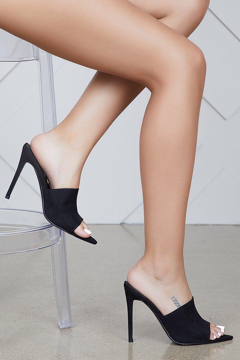 Cece Pointed Pointed Cece Toe Mule (schwarz) FINAL in 2018   Sexy legs   Pinterest ... 24b6c8