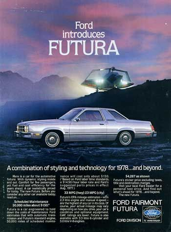 Looking into the Futura: an old coupe captivates ford futura cars ad…