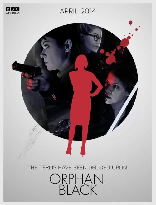Orphan Black Season 2 promo poster... so cool.