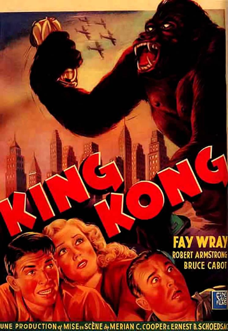 1930s Movies King Kong 1 Vintage 1930s Movie Posters Wallpaper Image King Kong King Kong 1933 King Kong Movie