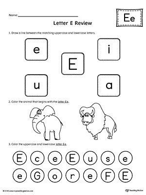 All About Letter E Printable Worksheet Letter G Worksheets Printable Preschool Worksheets Alphabet Worksheets Preschool Worksheet letter e kindergarten