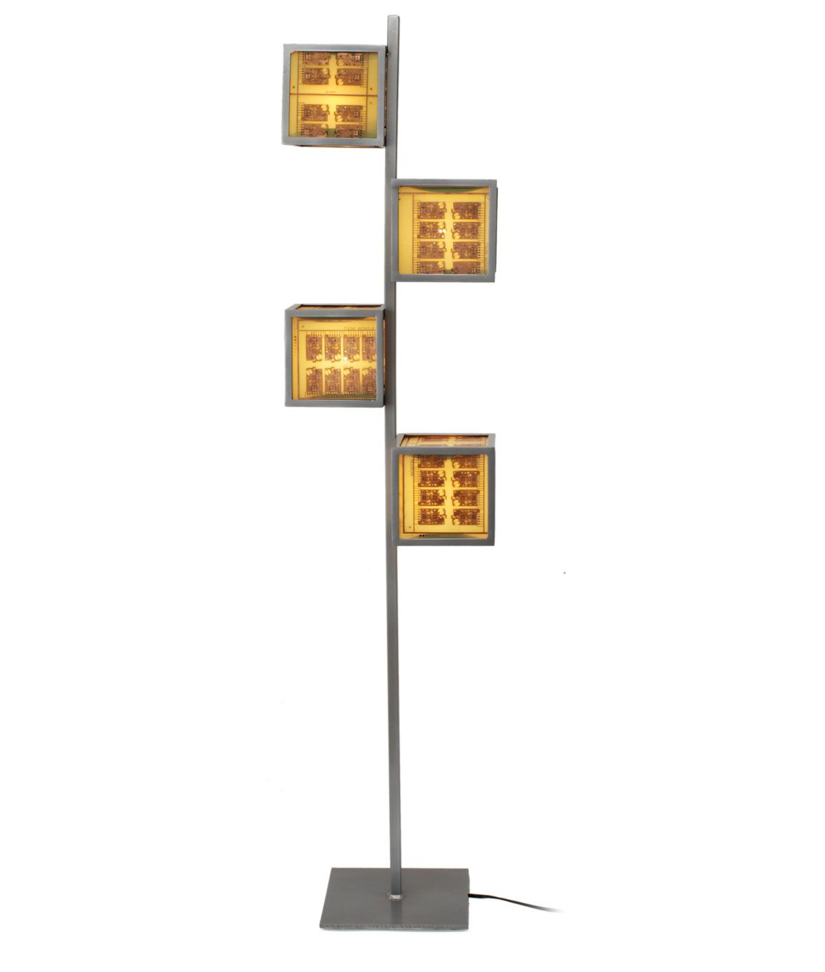 circuit board floor lamp beautiful asian paper lamp inspired rh pinterest com