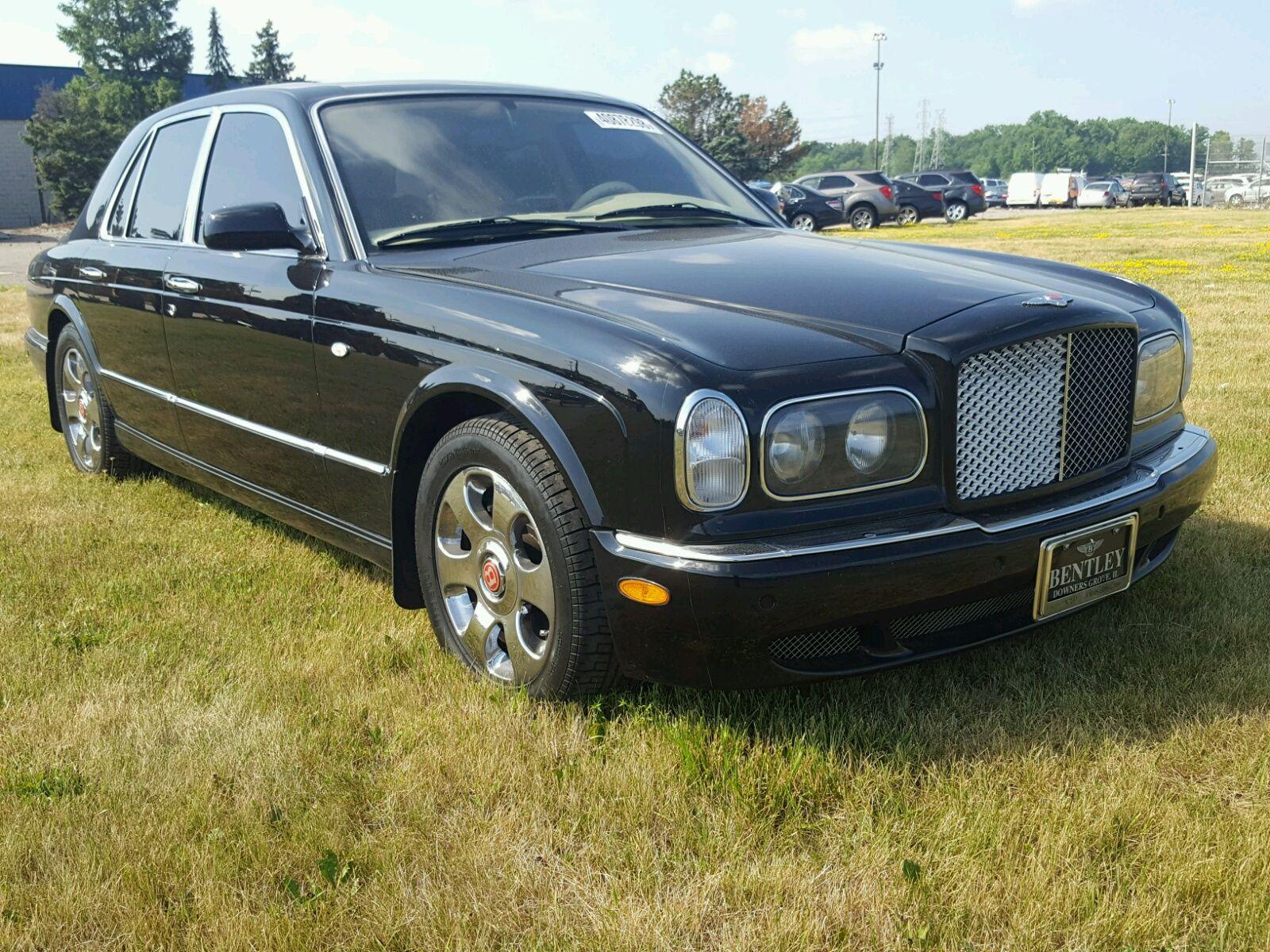 Salvage 2000 Bentley Arnage Bentley arnage, Classic cars