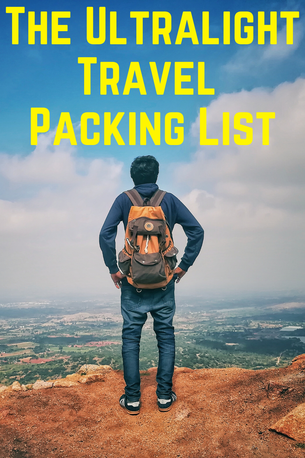 The Ultralight Travel Packing List For Men Where The Road Forks Travel Memories Travel Photography Traveling By Yourself