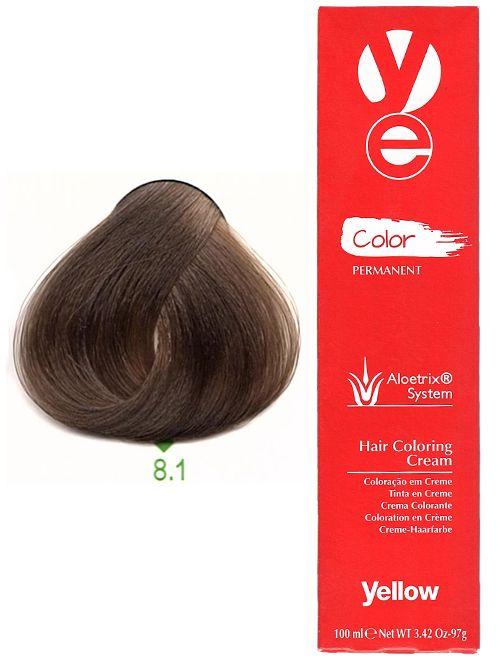 Alfaparf Yellow Hair Color Light Ash Blonde 8 1 Yellow Hair