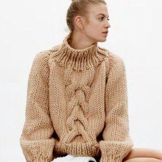 e83b310f9bea 14 pulls que l on a envie de se tricoter   tricot   Tricot, Pull et ...