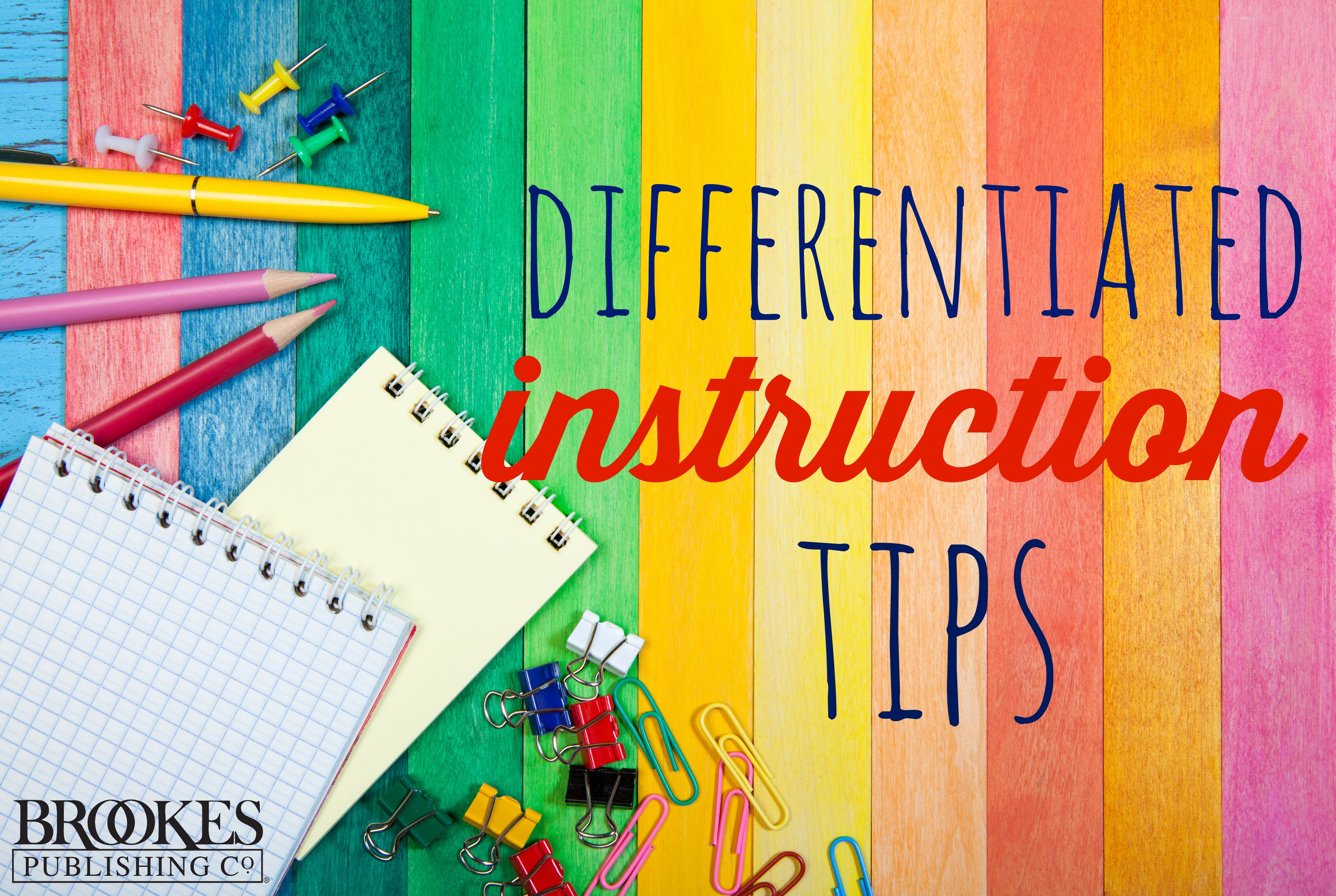 Blog Post Differentiated Instruction 7 Key Principles