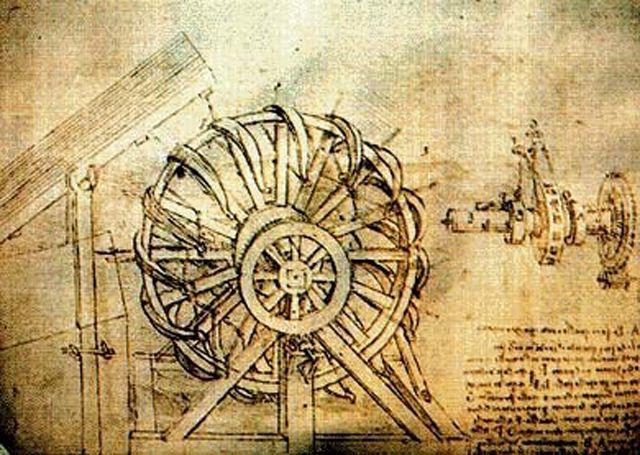 Зло ради знания: как Леонардо да Винчи разрабатывал смертоносное оружие | Наука | Общество | Аргументы и Факты Скорострельный арбалет