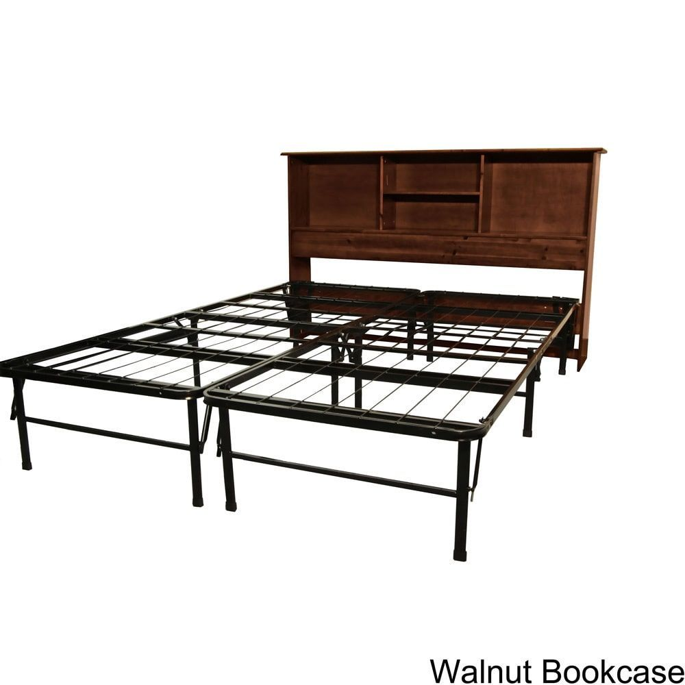 Epicfurnishings durabed fullsize steel foundation u frameinone