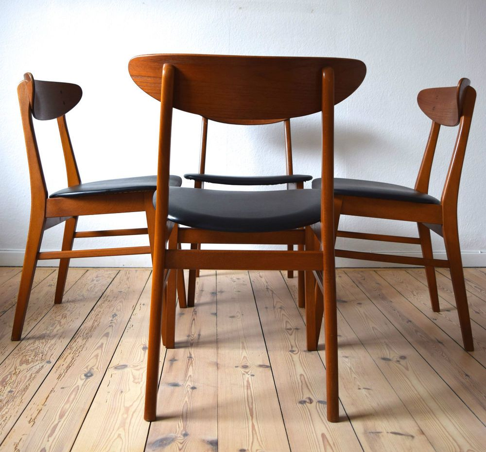 Stupendous Danish Mid Century Farstrup 210 Dining Chairs In Antiques Squirreltailoven Fun Painted Chair Ideas Images Squirreltailovenorg