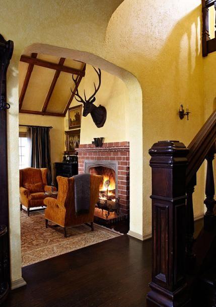 Old World Style for a Tudor Revival House | Tudor style ...
