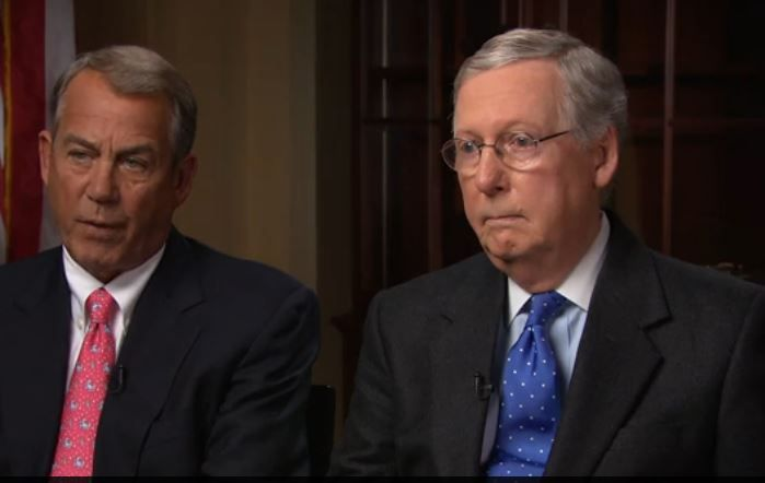 Boehner and McConnell Bomb On 60 Minutes When Asked For GOP Alternative to Obamacare http://www.politicususa.com/2015/01/25/boehner-mcconnell-bomb-60-minutes-asked-gop-alternative-obamacare.html