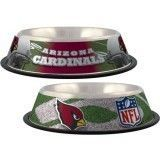 Arizona Cardinals Dog Bowl – Stainless