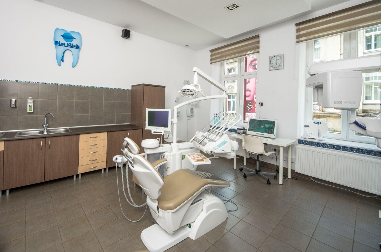 Nowoczesny stomatologiczny BlueKlinik Zapraszamy