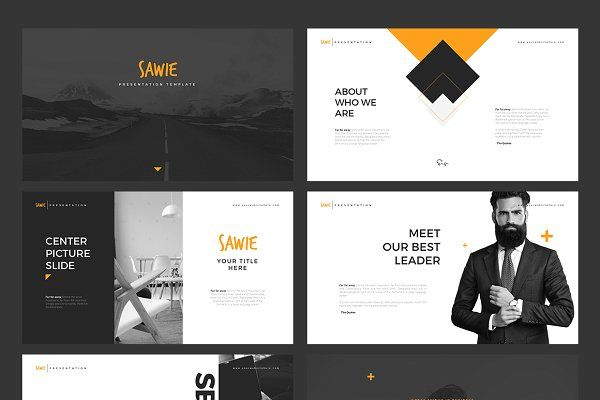 Sawie Powerpoint Template By Angkalimabelas On Creativemarket