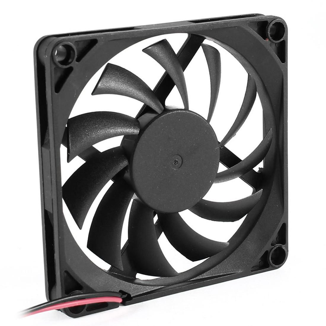 Hot 80mm 2 Pin Connector Cooling Fan For Computer Case Cpu Cooler