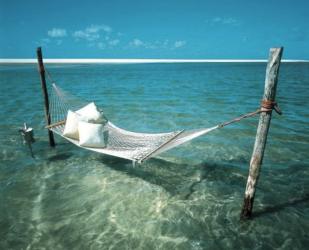 25 Gorgeous Resorts To Escape The Winter Blues - I want to be in this hammock
