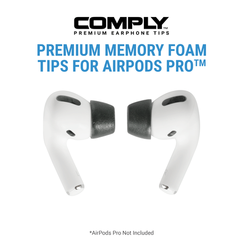 Comply Foam Tips Compatible With Apple Airpods Pro Airpods Pro Foam Tips
