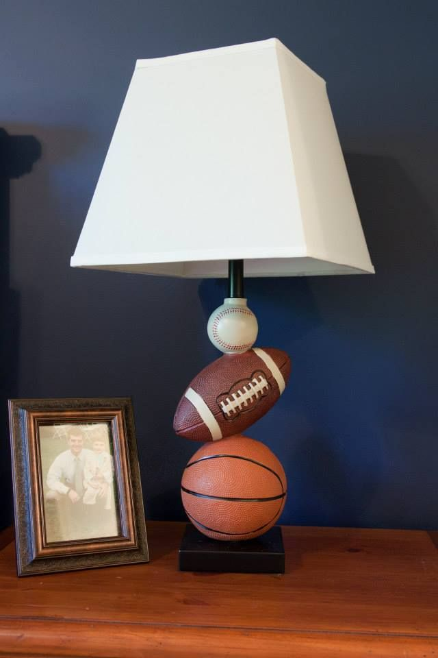 Sports Themed Bedroom For A Little Boy