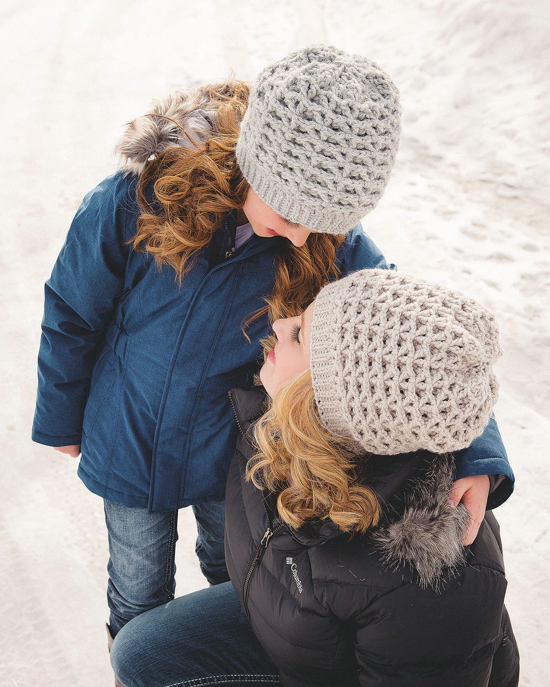 626d93b7e53 Crocheted Chunky Slouch Hat