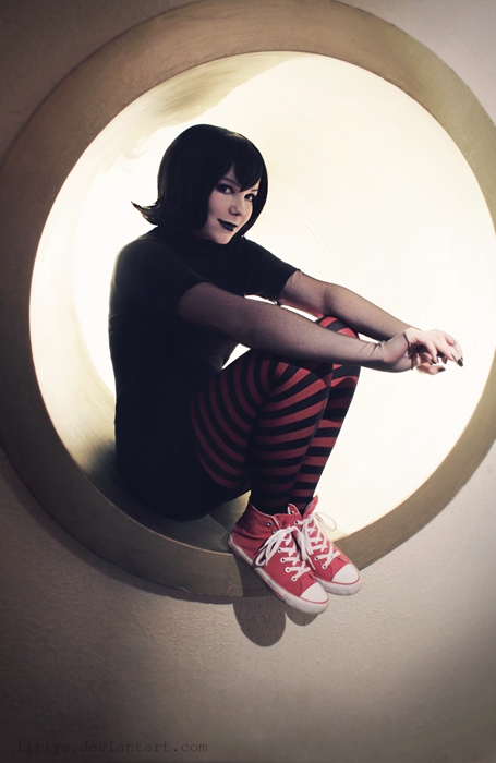 Somebody looks familiar  ) Look at this lovely lady in her Hotel  Transylvania Mavis cosplay costume!  f745d00c1