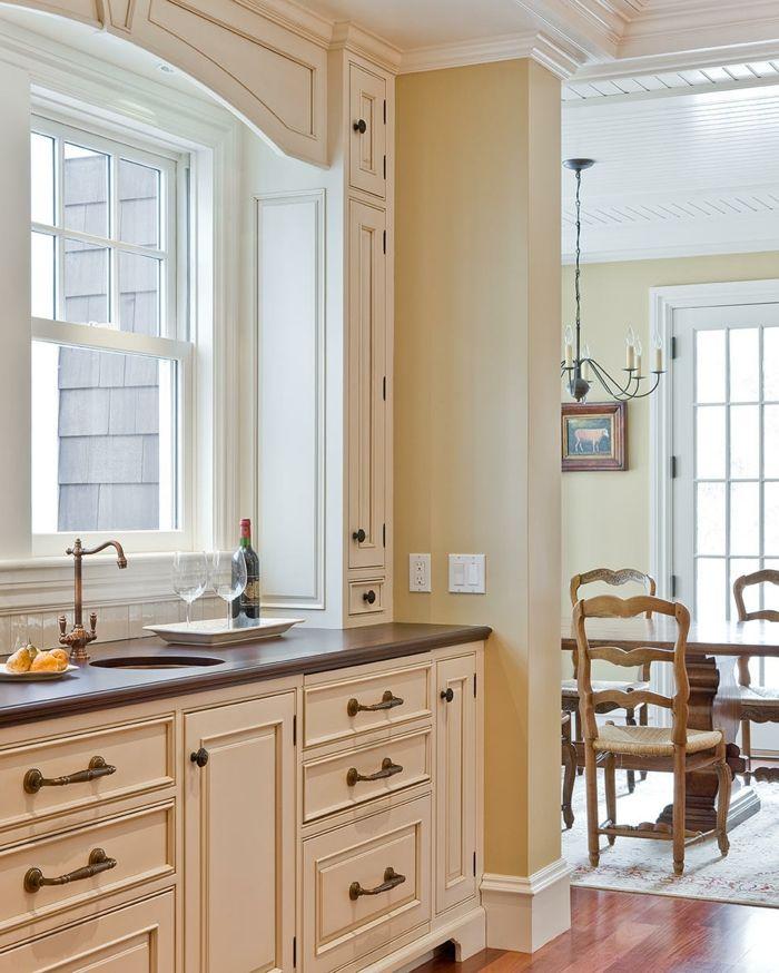 küche streichen in creme und ein harmonisches innendesign schaffen - küche streichen welche farbe