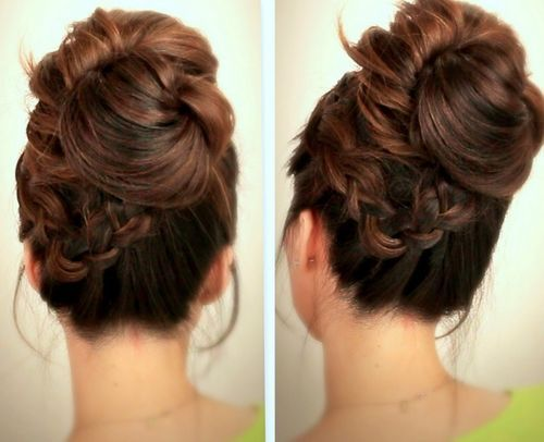 40 Chic Messy Updos For Long Hair Long Hair Updo Long Hair Styles Short Hair Styles Easy