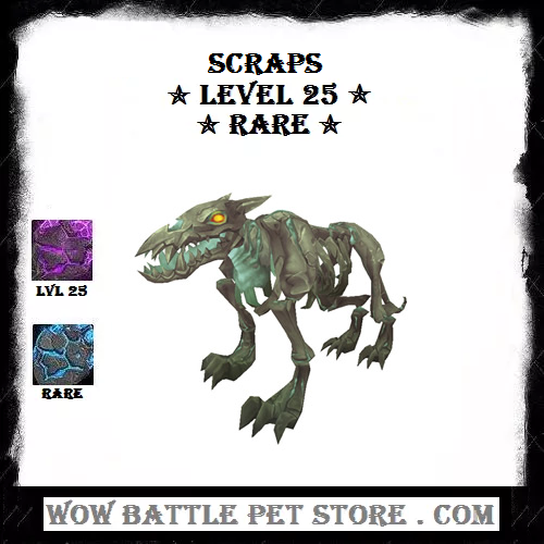 Scraps Wow Pet For Sale Wow Pets Flying Wow Pet Expensive Wow Pet Patch 7 2 New Wow Pet Achievements Rare Wo Pets For Sale Wow Battle Warcraft Pets