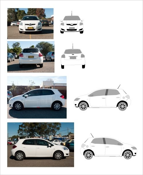 HOW to create car wrap templates to scale – Vehicle Wrap Templates