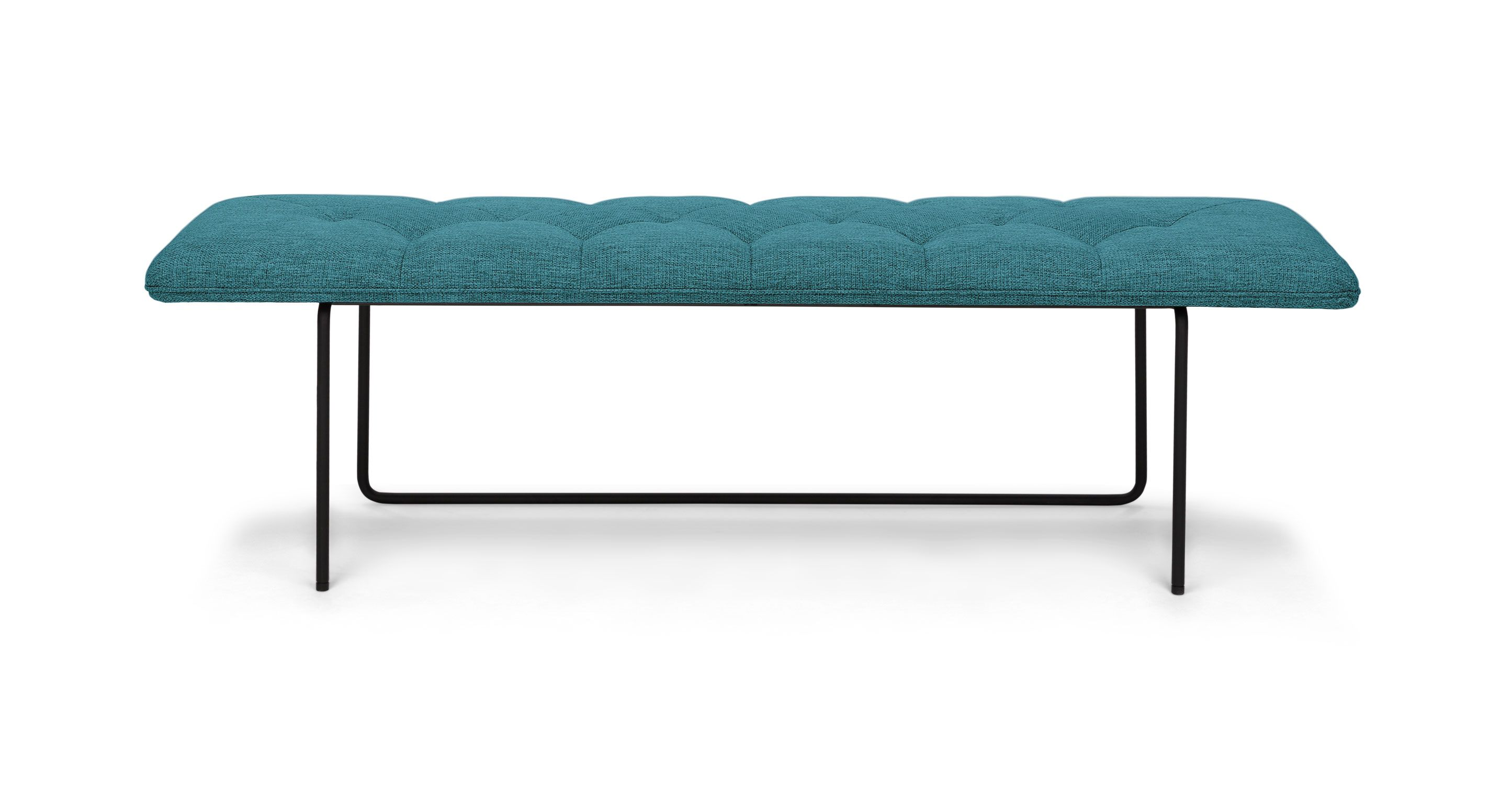 Horizon arizona turquoise bench benches article - Discount living room furniture near me ...