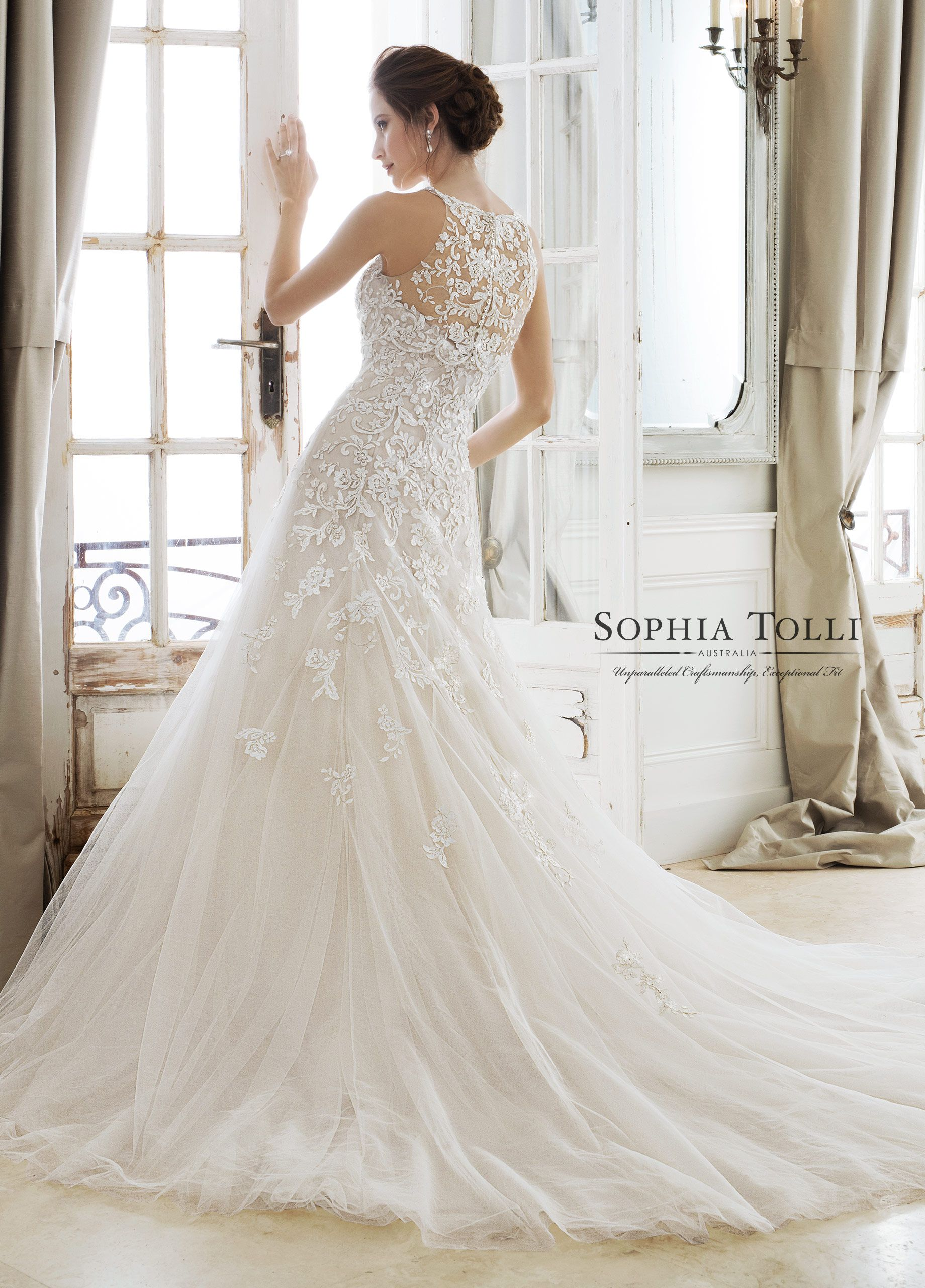 Sophia Tolli Wedding Dresses 2018 for Mon Cheri | Brautkleider